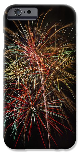 Awesome Amazing Fireworks IPhone Case by Garry Gay