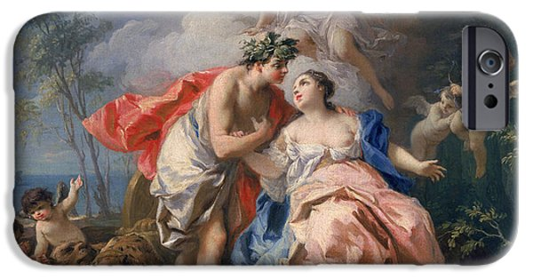Bacchus And Ariadne IPhone 6s Case by Jacopo Amigoni
