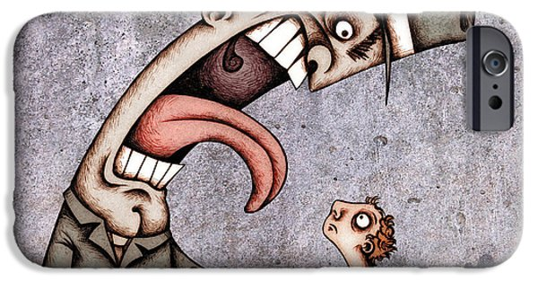 Bad Rich Man IPhone Case by Autogiro Illustration