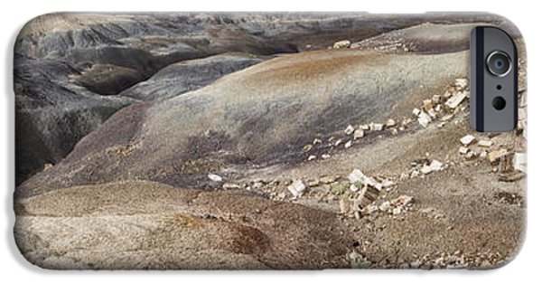 Badlands In Petrified Forest IPhone Case by Melany Sarafis
