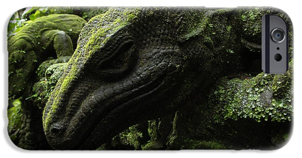 Bali Indonesia Lizard Sculpture IPhone 6s Case by Bob Christopher