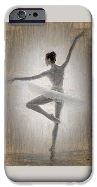Ballerina IPhone Case by Quim Abella