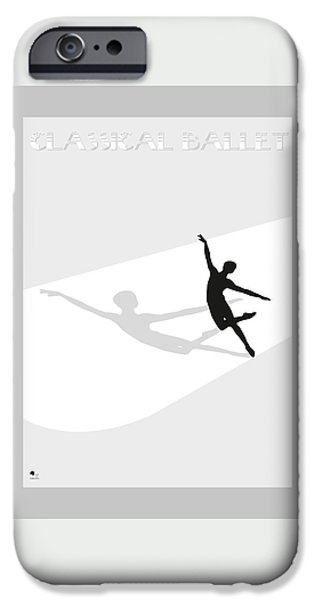Ballet IPhone Case by Joaquin Abella