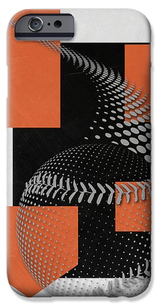 Baltimore Orioles Art IPhone Case by Joe Hamilton
