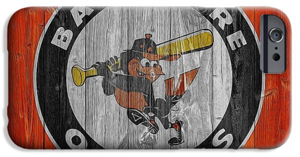 Baltimore Orioles Graphic Barn Door IPhone 6s Case by Dan Sproul