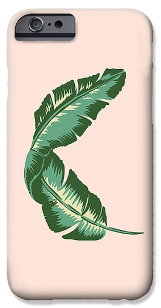 Banana Leaf Square Print IPhone 6s Case by Lauren Amelia Hughes