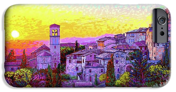Basilica Of St. Francis Of Assisi IPhone Case by Jane Small