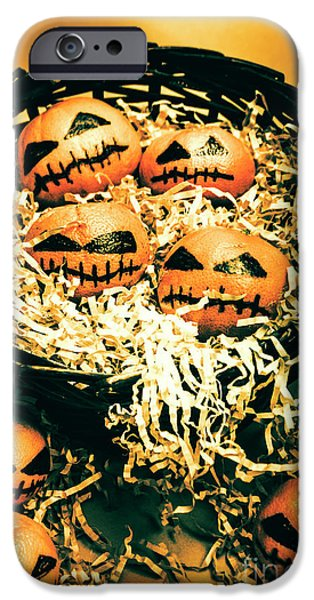 Basket Of Little Halloween Horrors IPhone Case by Jorgo Photography - Wall Art Gallery