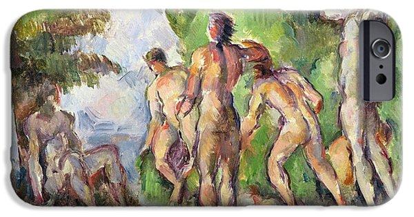 Bathers IPhone Case by Paul Cezanne
