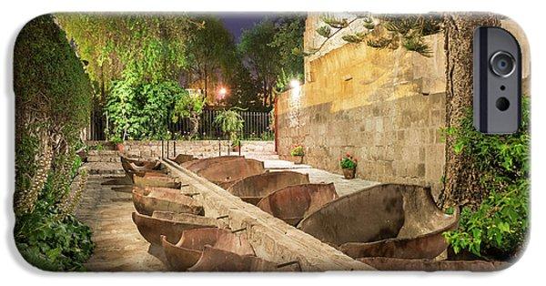 Bathing Area In Santa Catalina Monastery IPhone Case by Jess Kraft