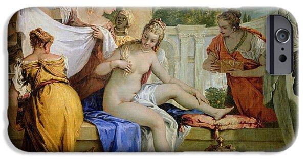 Bathsheba Bathing IPhone Case by Sebastiano Ricci