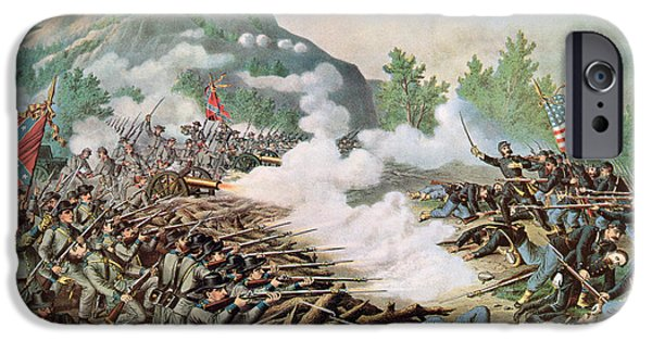 Battle Of Kenesaw Mountain Georgia 27th June 1864 IPhone Case by American School
