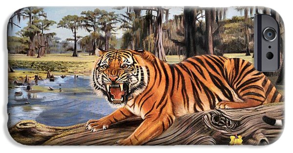 Bayou Mike Of Louisiana IPhone Case by Mike Roberts
