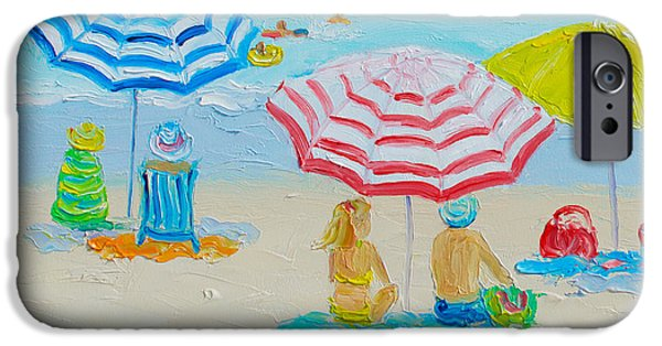 Beach Art - Balmy Summers Day IPhone Case by Jan Matson