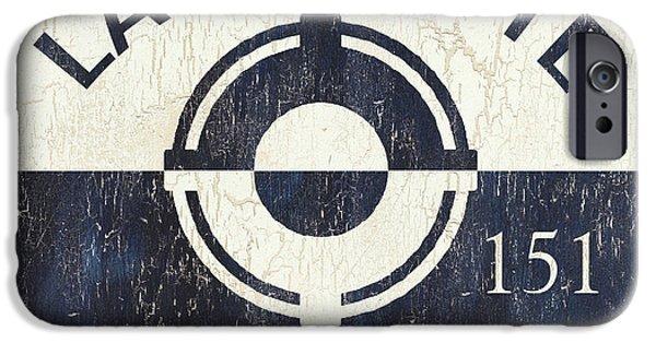 Beach Badge Lavalette IPhone Case by Debbie DeWitt