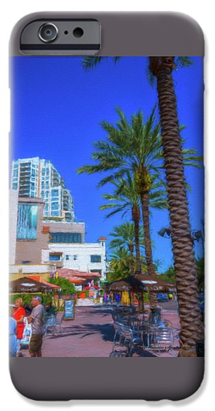 Beach Dr. St. Petersburg Florida IPhone Case by Marvin Spates
