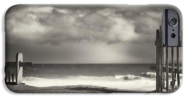 Beach Fence - Wellfleet Cape Cod IPhone Case by Dapixara Art