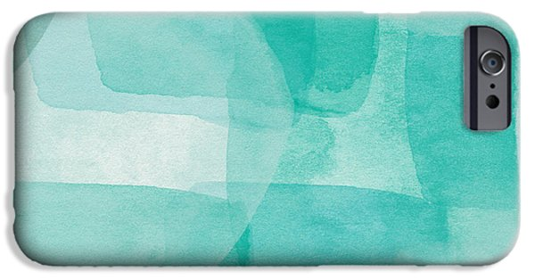 Beach Glass- Abstract Art By Linda Woods IPhone Case by Linda Woods