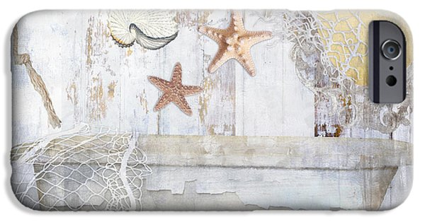 Beach House Bath IPhone Case by Mindy Sommers