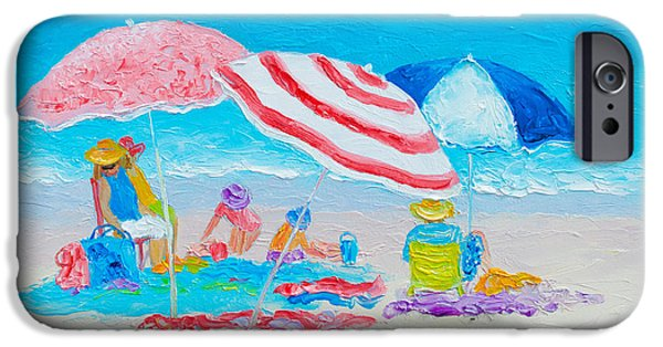 Beach Painting - Summer Beach Vacation IPhone Case by Jan Matson