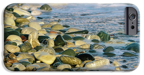 Beach Pebbles IPhone Case by Stelios Kleanthous