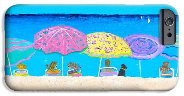 Beach Sands Perfect Tans IPhone Case by Jan Matson