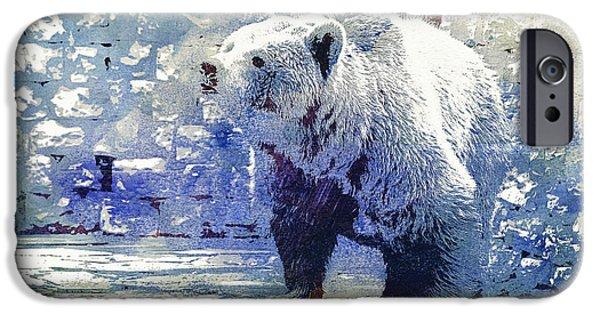 Bear Walk IPhone Case by Jutta Maria Pusl