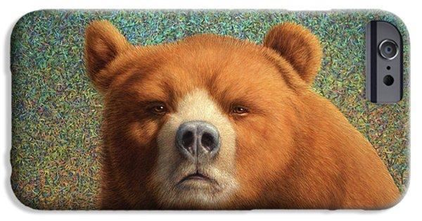 Bearish IPhone 6s Case by James W Johnson