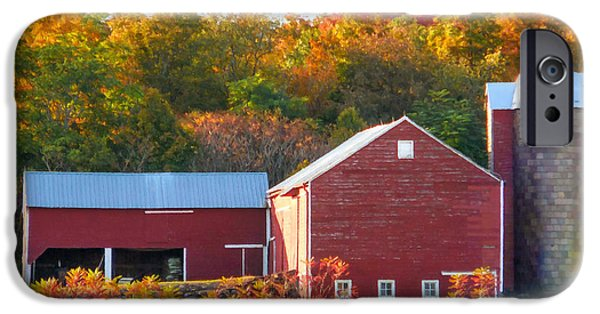 Beautiful Red Barn 2 IPhone 6s Case by Lanjee Chee