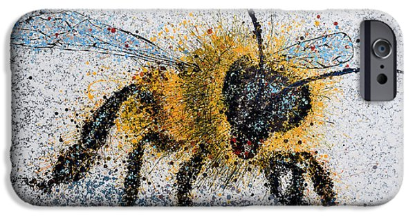 Bee Number One IPhone Case by Michael Glass