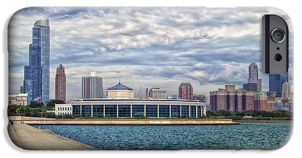 Before The Spring Storm Chicago Shedd Aquarium Eastside 01 IPhone Case by Thomas Woolworth