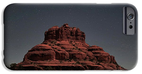 Bell Rock With Stars IPhone Case by Donna Kennedy