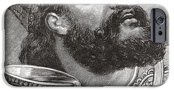 Belshazzar IPhone Case by Lionel F Stevenson