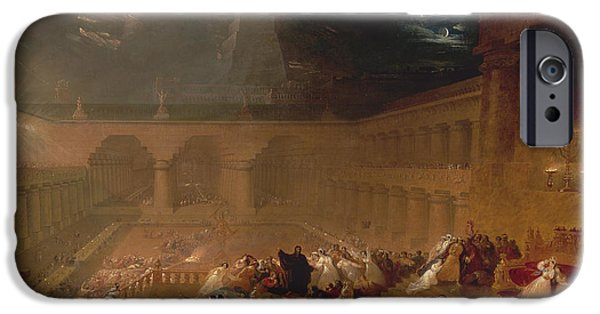 Belshazzars Feast By John Martin IPhone Case by John Martin