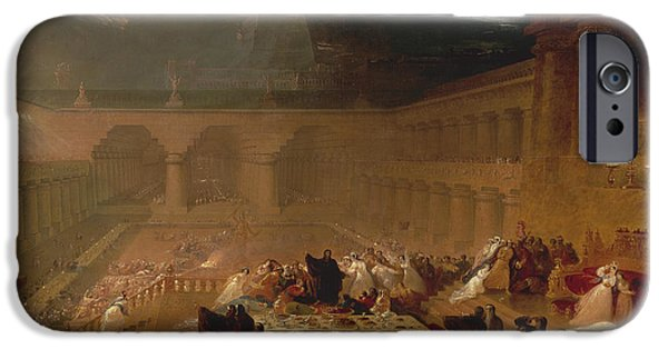 Belshazzar's Feast IPhone Case by John Martin