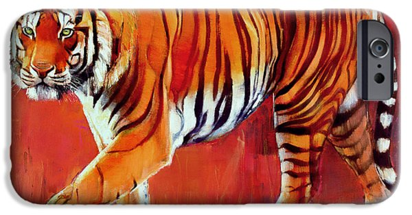 Bengal Tiger  IPhone 6s Case by Mark Adlington