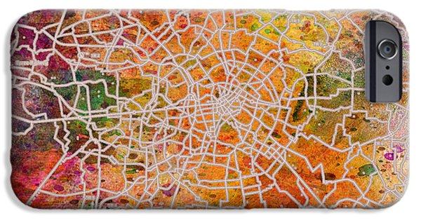 Berlin IPhone Case by Mark Ashkenazi