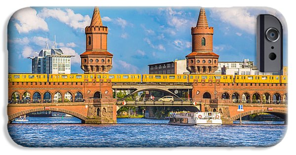 Berlin Oberbaum Bridge IPhone Case by JR Photography