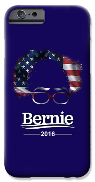 Bernie Sanders 2016 IPhone 6s Case by Marvin Blaine