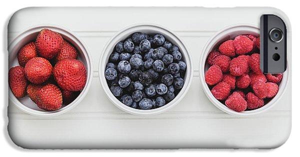 Berry Fresh IPhone Case by Kim Hojnacki