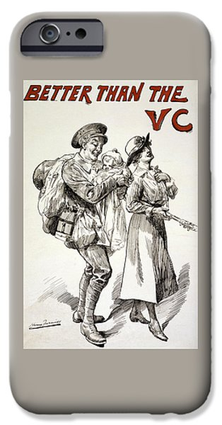 Better Than The Vc IPhone Case by Harry Furniss