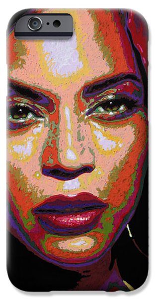 Beyonce IPhone 6s Case by Maria Arango