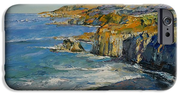 Big Sur IPhone Case by Michael Creese
