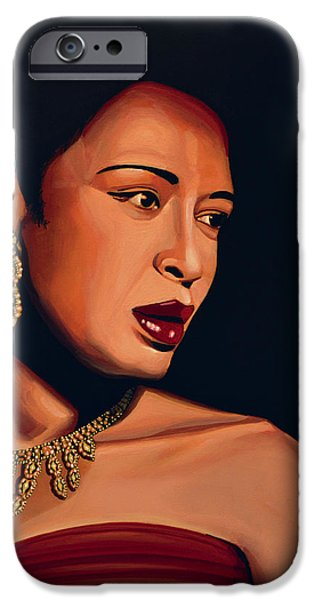 Billie Holiday IPhone Case by Paul Meijering