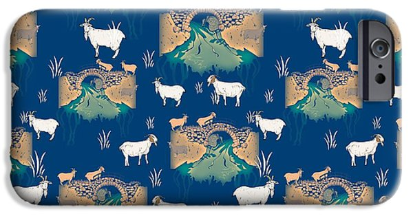 Billy Goat Gruff IPhone Case by Beth Travers