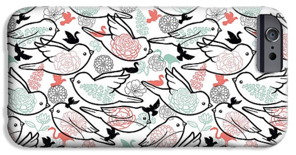 Bird Solid IPhone 6s Case by Elizabeth Taylor
