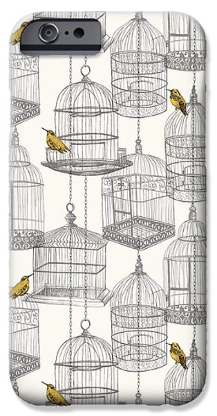 Birdcages IPhone 6s Case by Stephanie Davies