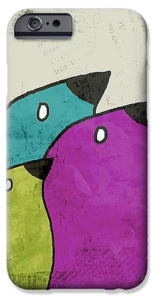 Birdies - V06c IPhone 6s Case by Variance Collections