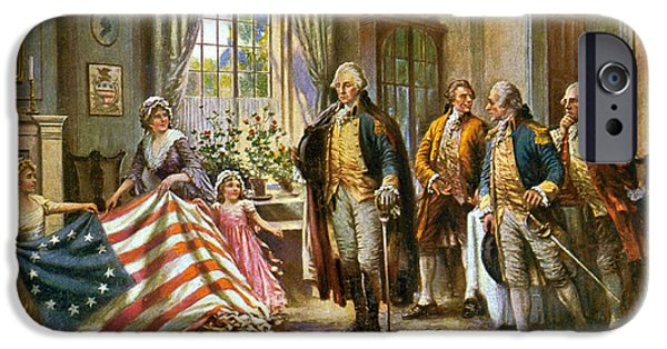 Birth Of Old Glory, 1777 IPhone Case by Science Source