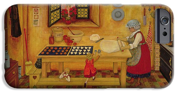 Biscuit Baking Day IPhone Case by Ditz